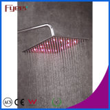 Fyeer Chrom überzog geänderten LED dünnen Hahn des Dusche-Kopf-3 Farbe