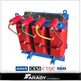 tipo seco transformador da resina do molde de 33kv 630kVA da corrente eléctrica