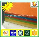 tarjeta de papel del color sin recubrimiento 110GSM