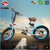 Foldable 350W Bicyclette électrique Batterie au lithium Pneu gonflable en graisse En15194 Apportez