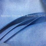 Tissu remplaçable bleu et vert de Nonwoven du matériau SMS de robe de Surgical&Isolation