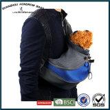 El nuevo hombro del diseño del Amazonas lleva el bolso para el perro de animal doméstico con el bolsillo Sh-17070206 del teléfono