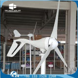 400W agricultural residencial da C.C. 12V 24V construído na turbina de vento pequena do controlador de MPPT