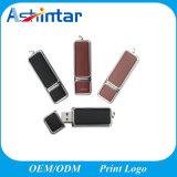 De vierkante Aandrijving van de Flits Leer USB van het BedrijfsUSB van de Schijf Pnedrive