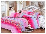 優雅な寝具の一定の対のサイズ4PCの羽毛布団カバー一定のMicrofiberの極度の柔らかい生命