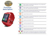 여자 Bluetooth 시계 U8 (ELTSSBJ-3-3)를 위한 인조 인간 지능적인 시계