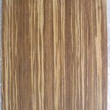 Elegante piso de bambú tejido de aspecto