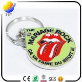 Запальчиво поцелуй крася цепь Bosseyed металла логоса ключевую
