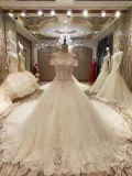 新しいMarriage Puffy到着2017の上の王女のウェディングドレス