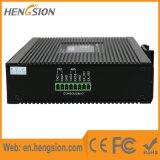 5 Schakelaar Ethernet van de Havens Tx en Fx van de megabit de Industriële