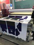 1.118mの66GSM/75GSMジャンボロールのロールスロイスの織物のための速い乾燥したインクジェット昇華ペーパー