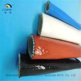 Koker van de Brand van de Glasvezel van het silicone de Hars Geverniste voor De Bescherming van Staalfabrieken