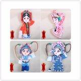 2017 populärer chinesischer Symbol-Serie Gummi-Magnet Artware