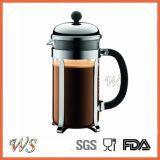 Wschhh005 het Beroemde Koffiezetapparaat Van uitstekende kwaliteit van de Pers van het Roestvrij staal Franse Van Wingshung