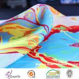 Напечатанная ткань мытья песка для рубашки или одежды или платья