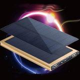 Paquete externo de la batería del cargador solar ultrafino solar universal de Powerbank 12000mAh