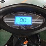 黒い60V-800W 2車輪の電気手段か電気オートバイ