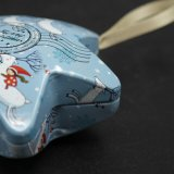 Hot Smart Hexagram Pingente Box / Decorated Tin (HS001-V6)