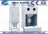 Tipo gabinete manual da pressão da máquina do Sandblasting