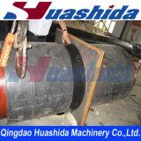 Abrigo de la fusión del tubo del HDPE electro