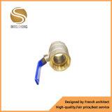 Выкованный шариковый клапан Dn4-Dn50 глобуса ручки рукоятки латунный