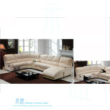 Sofà moderno del Recliner del cuoio del salone per la casa (HW-6012S)