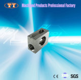 Cnc-vertikale Prägemetallprodukt-Präzision CNC Bearbeitung-Mitte-maschinell bearbeitete Metalteile