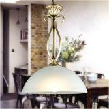 Luz de suspensão interna simples do pendente do estilo de Médio Oriente com vidro