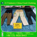 ポーランドの使用された着る人の綿のズボン