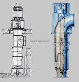 도시 배수장치 펌프 헥토리터 시리즈 좋은 공동현상 성과
