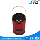 Lanterna recarregável solar impermeável ao ar livre do diodo emissor de luz de SRS artigos de venda quentes da melhor