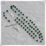 Papa Francis Rosary con i piccoli branelli di plastica (IO-cr384)