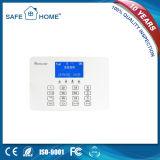 Painel de controle Home sem fio do LCD com sistema de alarme do incêndio da G/M do teclado do toque