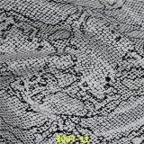 China bereift Materialien PU-synthetisches Leder mit Qualität