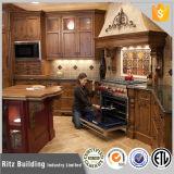 Module de cuisine matériel privé de meubles en bois solide de modèle de taille de Chambre