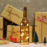 Botella de 10 del LED del girasol luces de las estrellas de la cadena para los regalos decorativos de la fiesta de Navidad de interior de la boda