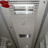Red colorida del techo suspendido T del surtidor de Guangxi para las estaciones de metro de los aeropuertos de Supermaket/