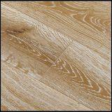 Ahumado y cepillado Aceite blanco Roble Engineered Wood Flooring