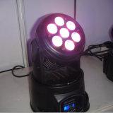de Kleur die van de Vierling 7X10W RGBW het Hoofd Professionele Licht van DJ bewegen