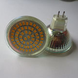 60PCS 3528SMD 3.1-3.3watt LED MR16 전구 12V Gu5.3 (LED-MR16-002)