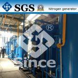 Purificação do nitrogênio com o CE complacente