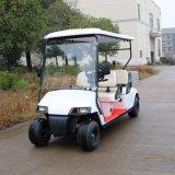 新しいモデルの後部貨物ボックスが付いている電気輸送のゴルフカート