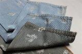 Striped джинсовая ткань хлопка с печатью пигмента