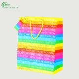 Fornitore promozionale variopinto del sacchetto del regalo (KG-PB077)