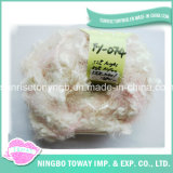 Bebê Mão Knitting Acrílico Nylon Lã Boucle Fancy fios (FY-074)