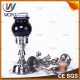 1 шипучка трубы Shisha трубы табака воды куря трубы труб кальяна способа PCS стеклянная