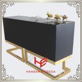 Tabela de chá moderna da tabela de console da tabela da mobília da mobília lateral do hotel da mobília da HOME da mobília do aço inoxidável do Sideboard da mesa de centro da tabela (RS160602)