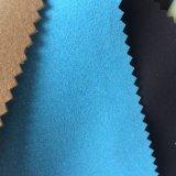 Faux-Veloursleder Mircrofiber Leder für Schuhe Hx-Fs1701