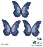 Distintivo molle personalizzato di Pin dello smalto di marchio animale della farfalla del metallo