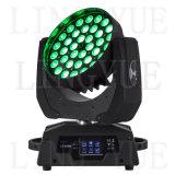 Stage de lumière 36X12W RGBW LED Wash Moving Head DJ Lighting